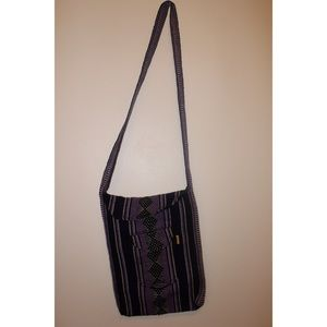 Handbags - Purple Mexican bag